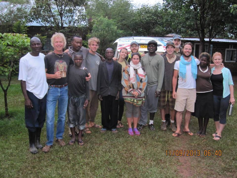 Students, instructors and Kenyan collaborators