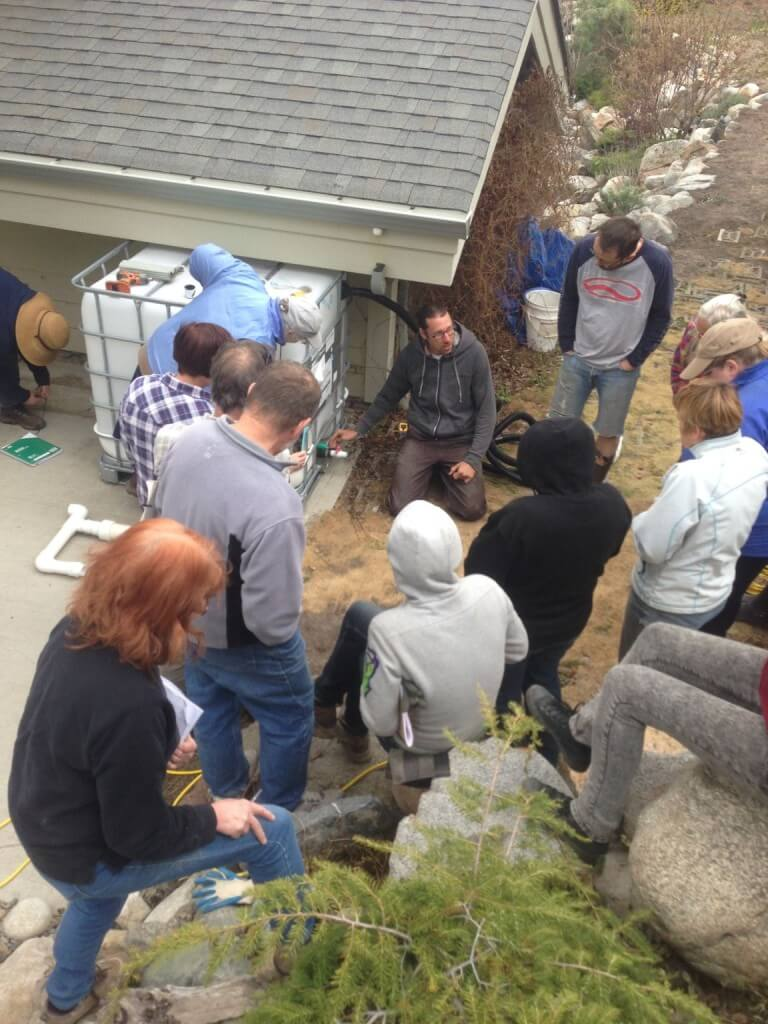 Gord Heibert of Element Eco-Design discusses rainwater harvesting.