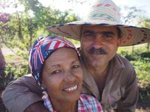 Oscar and Marcia, Sistema Las Elenas, livestock, fruit, and veggie production. They receive approximately 80 inmates per year at their farm who are transitioning out of incarceration and back into society. Many stay on as farm employees and others find land and start farming on their own.